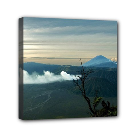 Bromo Caldera De Tenegger  Indonesia Mini Canvas 6  X 6  (stretched)