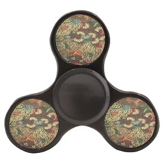 Colorful The Beautiful Of Art Indonesian Batik Pattern Finger Spinner by Samandel
