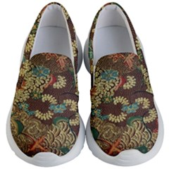 Colorful The Beautiful Of Art Indonesian Batik Pattern Kid s Lightweight Slip Ons by Samandel