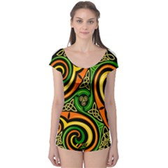 Celtic Celts Circle Color Colors Boyleg Leotard