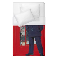 Red London Phone Boxes Duvet Cover (single Size) by Samandel