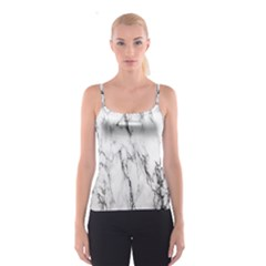 Marble Granite Pattern And Texture Spaghetti Strap Top