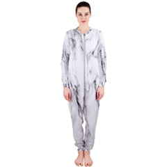 Marble Granite Pattern And Texture Onepiece Jumpsuit (ladies)