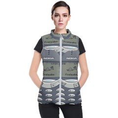 Nokia 3310 Classic Women s Puffer Vest by Samandel