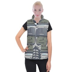 Nokia 3310 Classic Women s Button Up Vest by Samandel