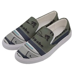Nokia 3310 Classic Men s Canvas Slip Ons by Samandel
