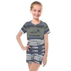 Nokia 3310 Classic Kids  Mesh Tee And Shorts Set by Samandel