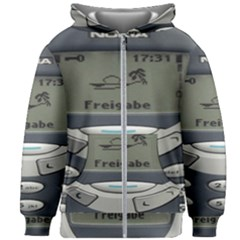 Nokia 3310 Classic Kids Zipper Hoodie Without Drawstring