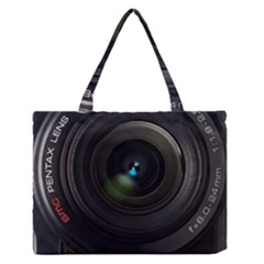 Pentax Camera Zipper Medium Tote Bag
