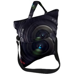 Pentax Camera Fold Over Handle Tote Bag