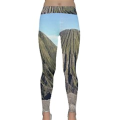 Mount Batok Bromo Indonesia Classic Yoga Leggings