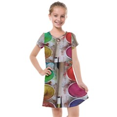 Paint Box Kids  Cross Web Dress by Samandel