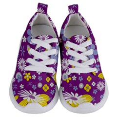 Floral Flowers Kids  Lightweight Sports Shoes