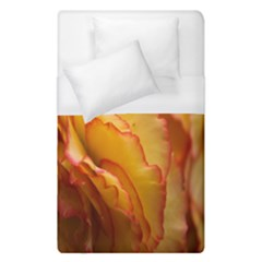 Flowers Leaves Leaf Floral Summer Duvet Cover (single Size)