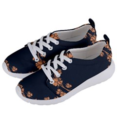 Floral Vintage Royal Frame Pattern Women s Lightweight Sports Shoes by Samandel