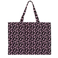 Breast Cancer Wallpapers Zipper Large Tote Bag by Alisyart