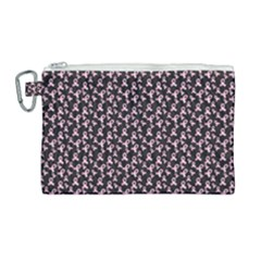 Breast Cancer Wallpapers Canvas Cosmetic Bag (large)