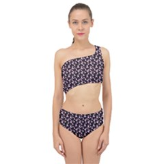 Breast Cancer Wallpapers Spliced Up Two Piece Swimsuit