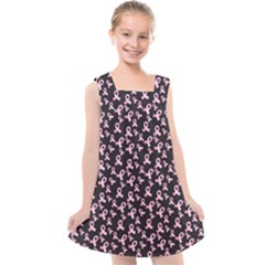 Breast Cancer Wallpapers Kids  Cross Back Dress
