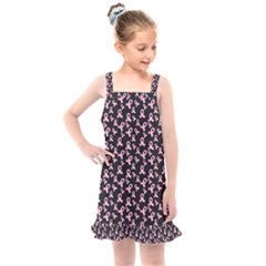 Breast Cancer Wallpapers Kids  Overall Dress