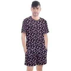 Breast Cancer Wallpapers Men s Mesh Tee And Shorts Set