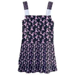 Breast Cancer Wallpapers Kids  Layered Skirt Swimsuit