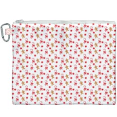 Cake Christmas Gingerbread Man Wallpapers Canvas Cosmetic Bag (xxxl)