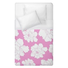 Beauty Flower Floral Pink Duvet Cover (single Size)