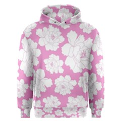 Beauty Flower Floral Pink Men s Overhead Hoodie