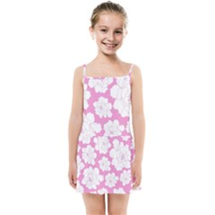 Beauty Flower Floral Pink Kids Summer Sun Dress