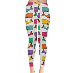 Fish Whale Cute Animals Classic Winter Leggings