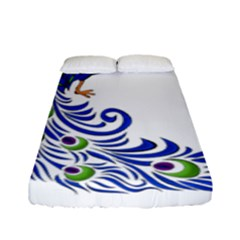 Venus Peacock Fitted Sheet (full/ Double Size)