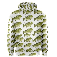 Green Small Fish Water Men s Pullover Hoodie