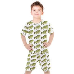 Green Small Fish Water Kid s Set