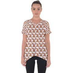 Babby Gingerbread Cut Out Side Drop Tee