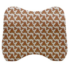 Babby Gingerbread Velour Head Support Cushion