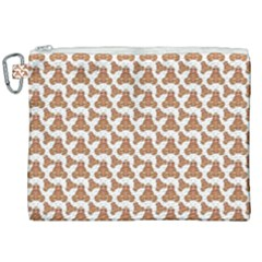 Babby Gingerbread Canvas Cosmetic Bag (xxl)