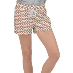 Babby Gingerbread Women s Velour Lounge Shorts