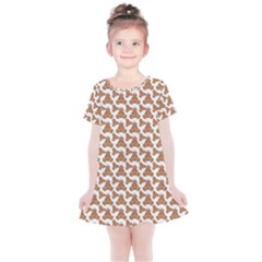 Babby Gingerbread Kids  Simple Cotton Dress
