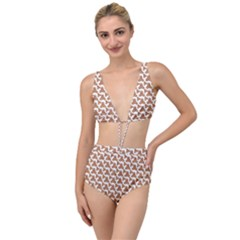 Babby Gingerbread Tied Up Two Piece Swimsuit