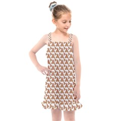 Babby Gingerbread Kids  Overall Dress