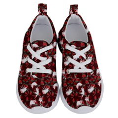 Cartoon Mouse Christmas Pattern Running Shoes