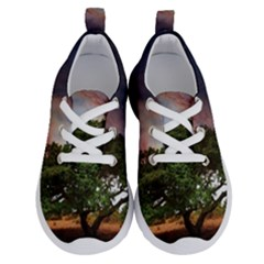 Lone Tree Fantasy Space Sky Moon Running Shoes