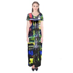 Between Two Moons 1 Short Sleeve Maxi Dress