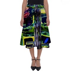 Between Two Moons 1 Perfect Length Midi Skirt by bestdesignintheworld