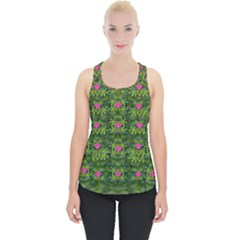 The Most Sacred Lotus Pond With Fantasy Bloom Piece Up Tank Top