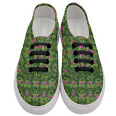 The Most Sacred Lotus Pond With Fantasy Bloom Women s Classic Low Top Sneakers