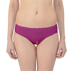 Airplane Jet Yellow Flying Wings Hipster Bikini Bottoms