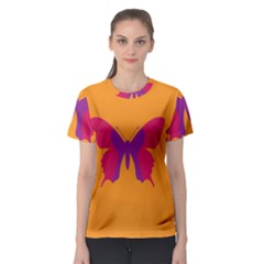 Butterfly Wings Insect Nature Women s Sport Mesh Tee