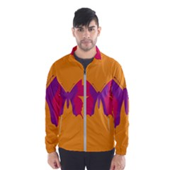 Butterfly Wings Insect Nature Windbreaker (men)